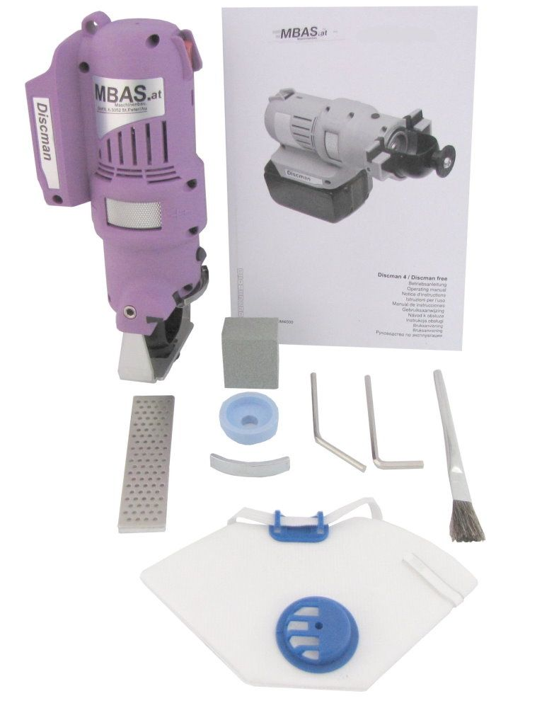 "MARC® Kantenschleifmaschine ""MBAS Discman 4.1"" - Set 1"