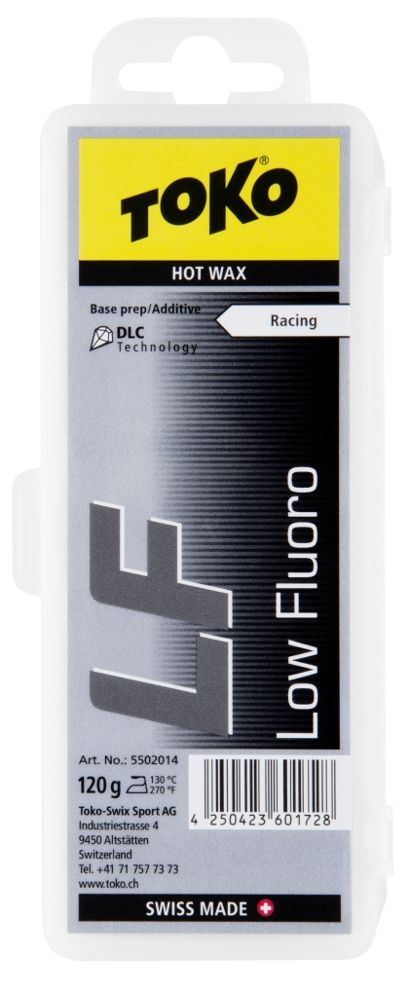 "TOKO Tribloc Race Wax ""Low Fluoro BLACK"", 120g"
