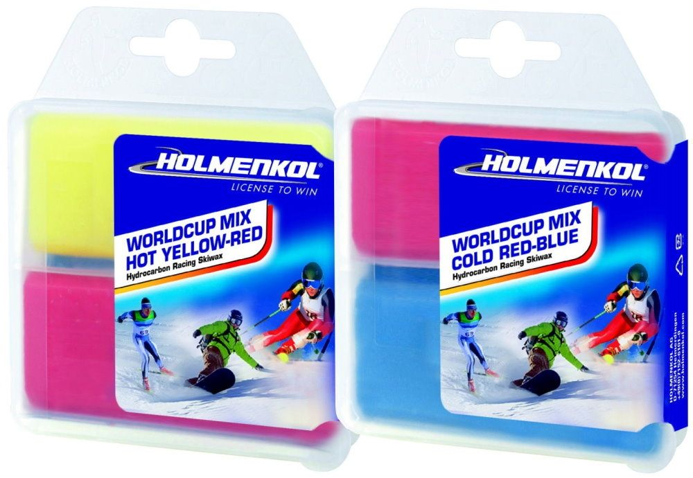 """HOLMENKOL WorldCup Mix """"YELLOW-RED-BLUE"""" - 2x70g"""