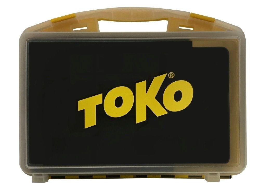 TOKO WaxSet-Box T14, gelb/transparent mit Passformeinlage