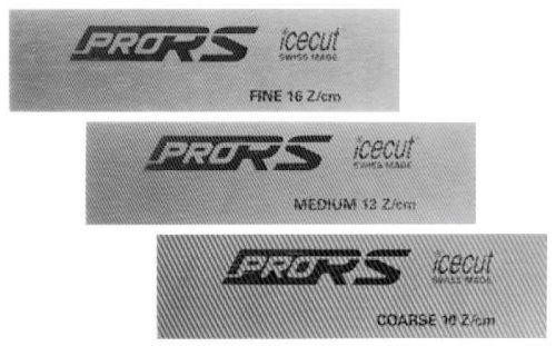 "Icecut Skifeilen-Set ""Racing Pro RS"" - 100 X 25mm (3er-Set)"