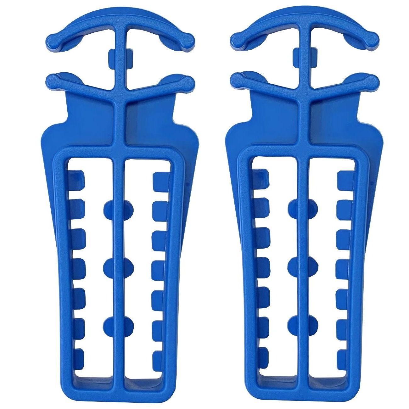 REX Langlauf Ski- und Stockhalter, blau