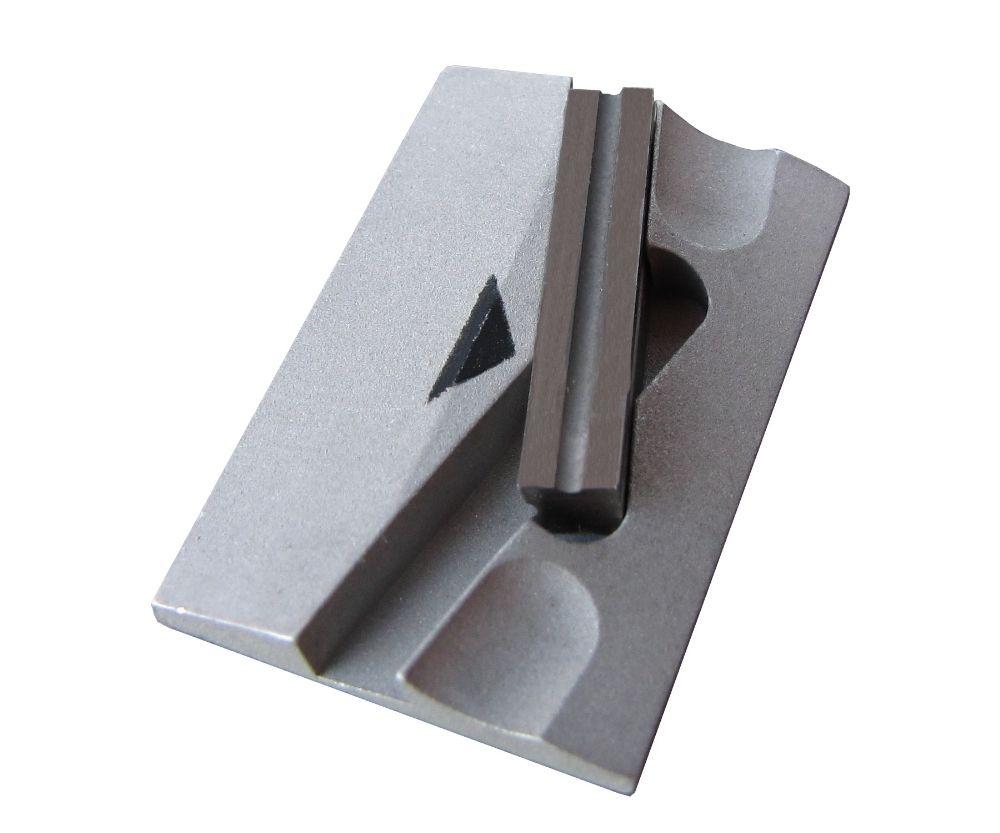Hartmetallmesser mit Halteplatte für SKS- und HOLMENKOL Kantenschärfer