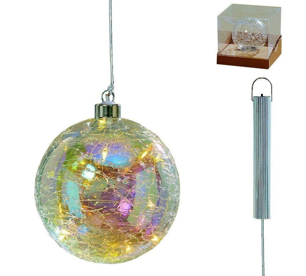 """MARC® Dekokugel """"Julia I"""" - Ø 12 cm - mit LED"""