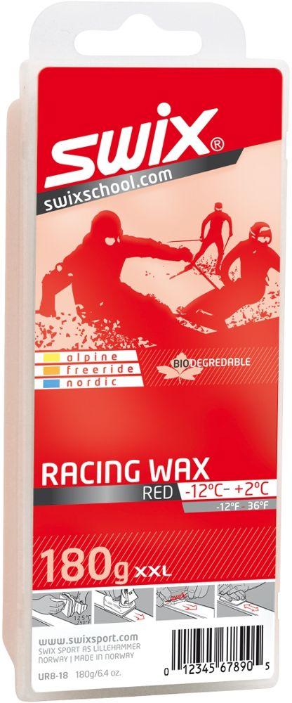 SWIX Racing Wax - UR-8, rot