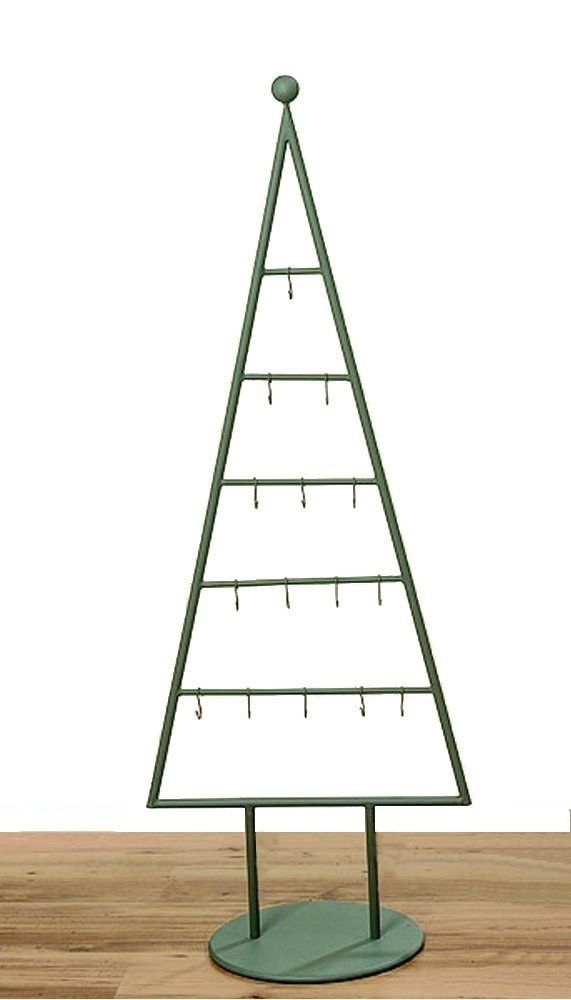 MARC® Weihnachtsbaum Christbaum Metall pulverbeschichtet grau 115cm