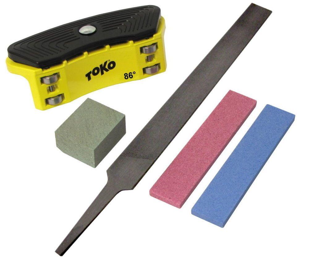 Kantenschärfer-Set  - mit TOKO Side Edge File Guide 86°