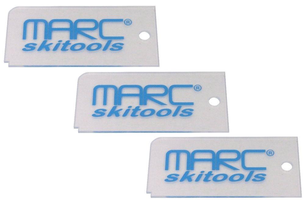MARC® Wachs-Abziehklingen 3er-Set - 3 mm