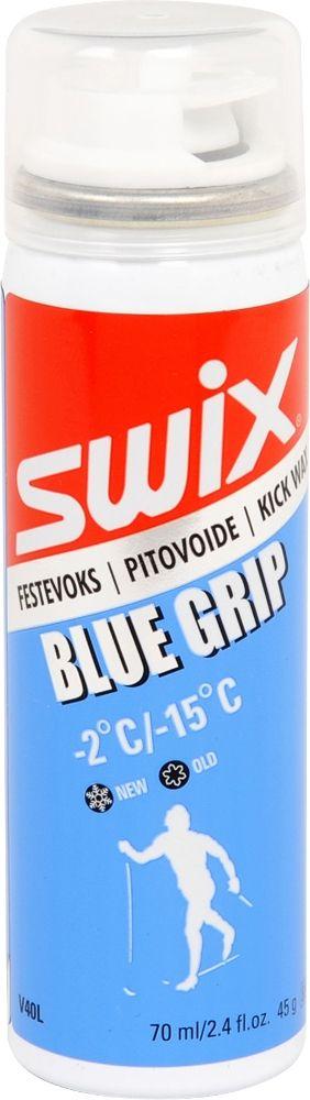 SWIX Flüssig-Steigwachs V40L - blau