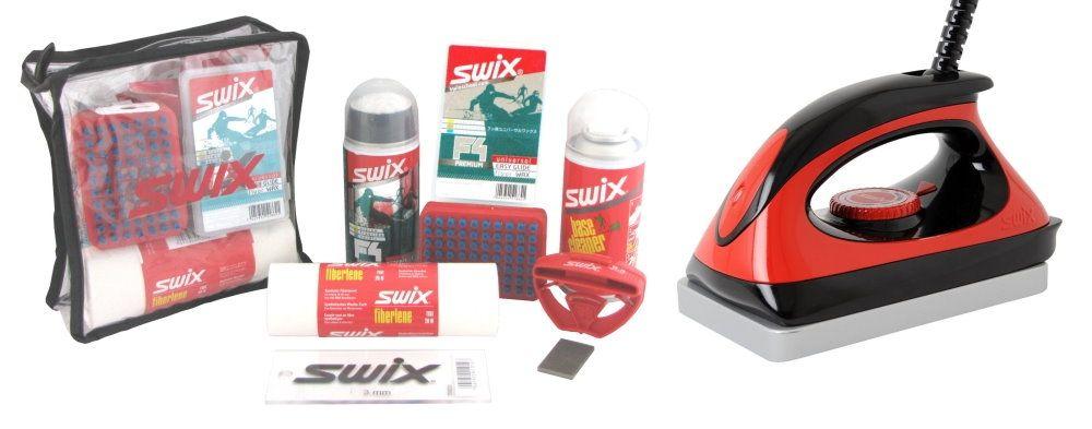 """SWIX Skipflege-Set """"Edger F4"""""""
