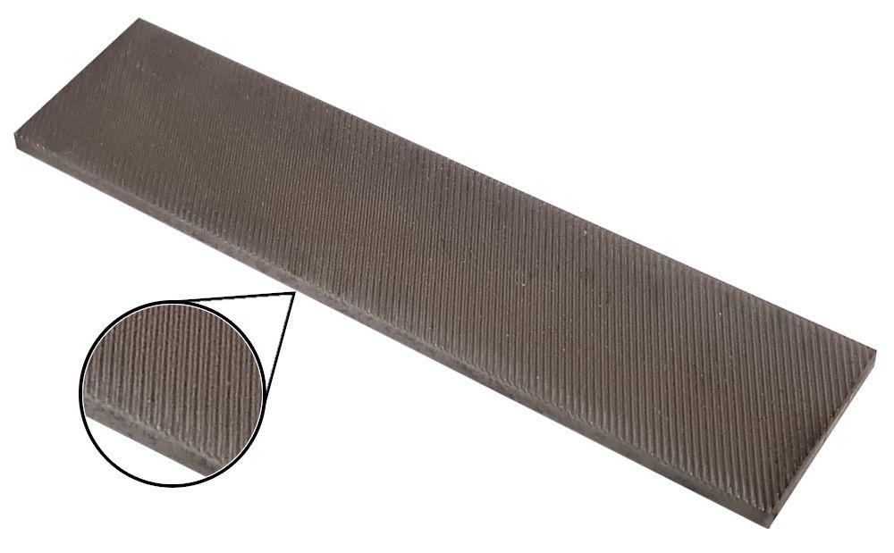 MARC® Feile - 100x25x4 - 12 Z/cm - Chrom