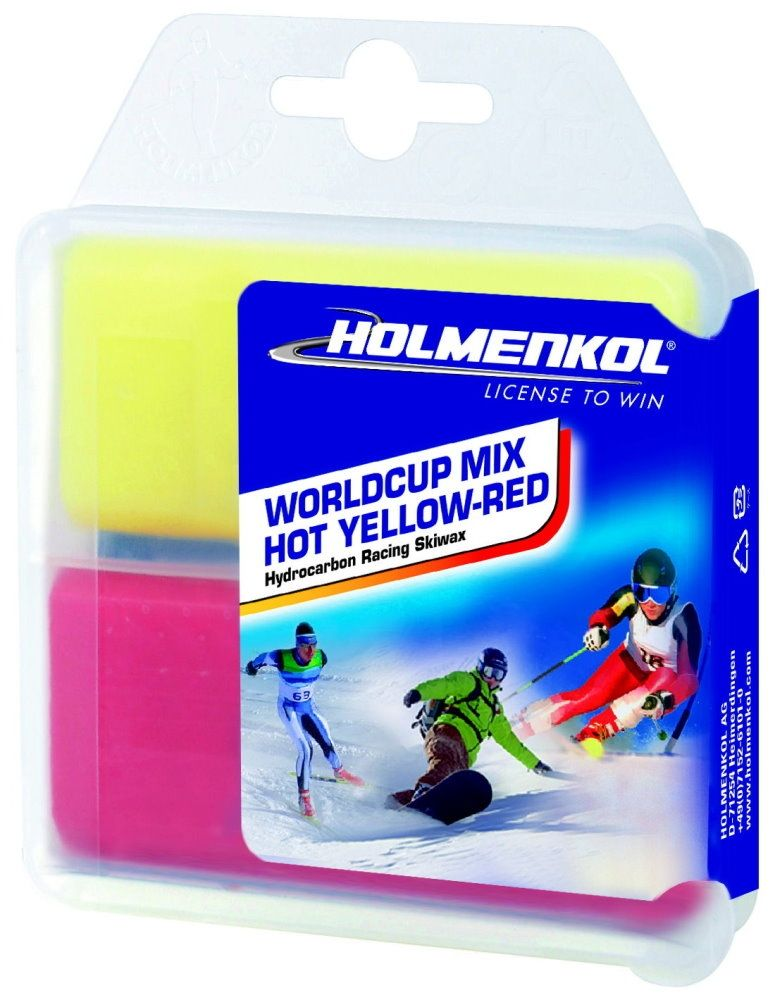 """HOLMENKOL WorldCup Mix HOT """"YELLOW-RED"""""""