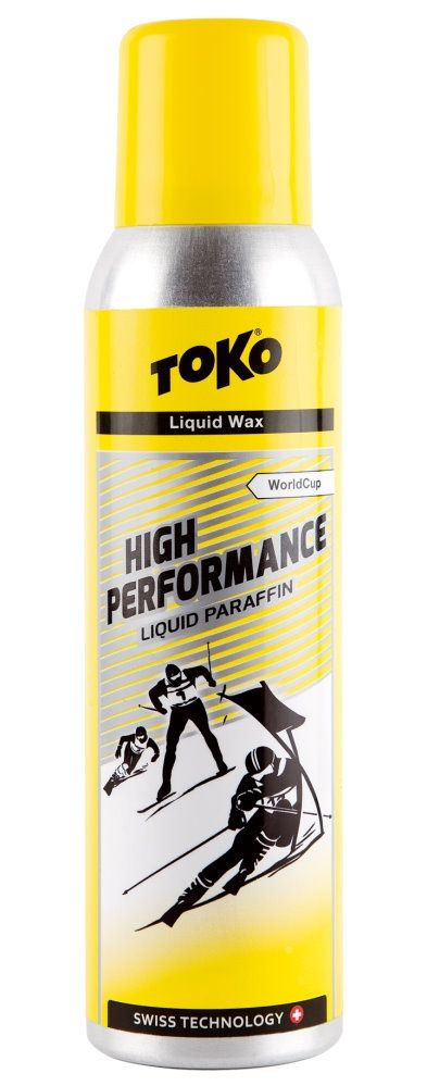 """TOKO High Performance Flüssig-Rennwax """"Liquid Paraffin"""" - YELLOW"""