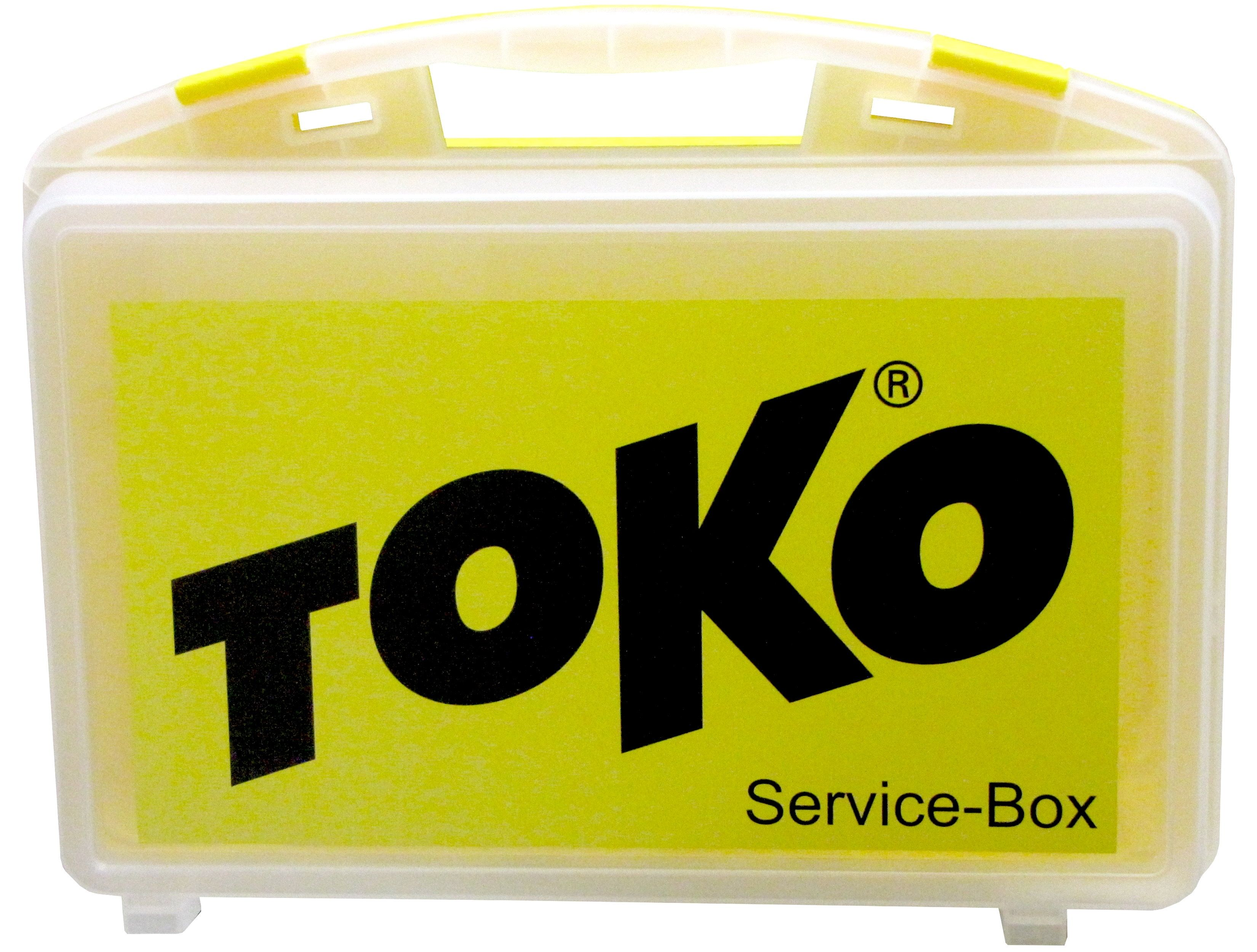 "TOKO Skiservicebox ""PROFESSIONAL"" - gelb/transparent"